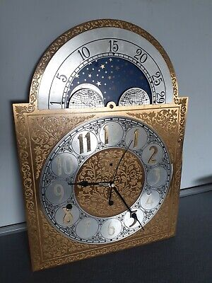 Grandfather Clock Face Dial /project /Great upcycle possibilities