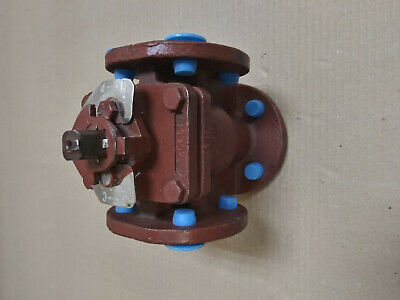 "Durco 3 Way Plug Valve 1"" Mg411 150 Stainless"