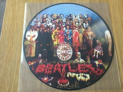 The Beatles - Sgt. Peppers Lonely Hearts Club Band. Picture Disc Unplayed