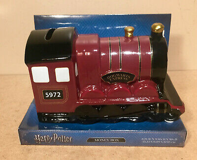 Primark Harry Potter Hogwarts Express 5972 Train Money Box Coin Collectable