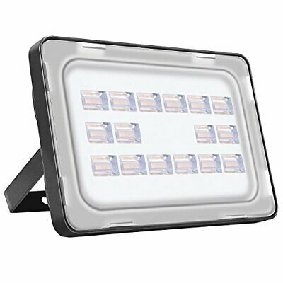 Viugreum 50W LED Outdoor Flood Lights, Thinner and Lighter (50W warm white)