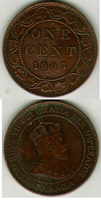 1903 Canada Large Cent