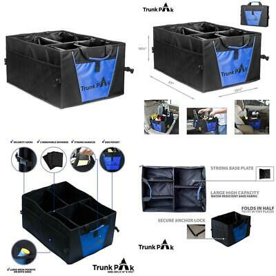 Trunk Organizer - Collapsible Car For All Types Of Vehicles Storage  Box Auto 5