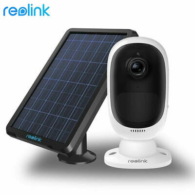 Reolink Argus 2 1080P Wire-Free Solar-Powered or Rechargeable Battery Powered