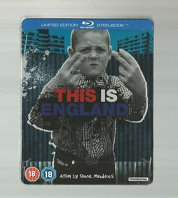 This Is England - Uk Exclusive Blu Ray Steelbook - New & Sealed
