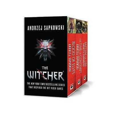 The Witcher Boxed Set: Blood of Elves, The Time of Contempt, Baptism of Fire ...