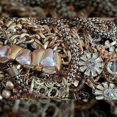 VINTAGE - NOW JEWELRY LOT Estate necklaces earrings ready to wear no junk 5pc