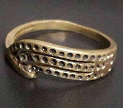 Wrap Ancient Ring Engagement Wedding Roman Medieval Jewelry Artifact Unique Type