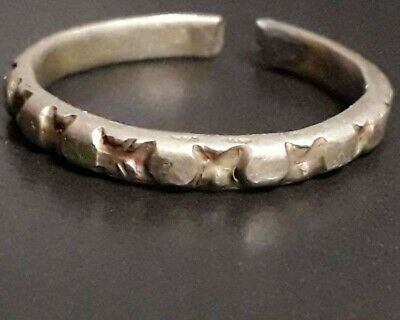 Ancient Silver Roman Ring Adujstable Artifact Solid Very Rare Find Unique Piece