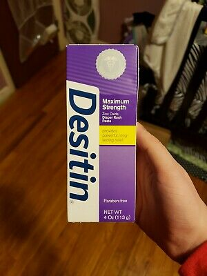 Desitin Diaper Rash Paste / Cream, Maximum Strength, Original, 4oz