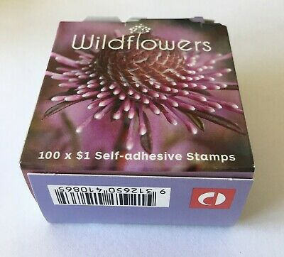 100 $1 Postage stamps Self Adhesive Australia Stamps in one box or 10 booklets