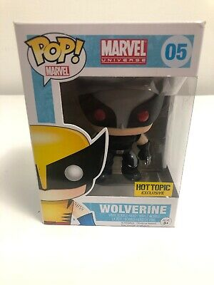 Funko Pop Marvel Universe Wolverine 05 Hot Topic Exclusive X-men X-force VAULTED