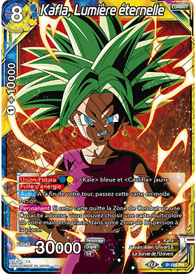 P-185 PR : Kafla, Lumière éternelle | carte Dragon Ball Super Card Game DBS FR