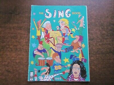 THE SING BOOK 1993 ABC Sheet Let's Have Music Song Primary School Softcover