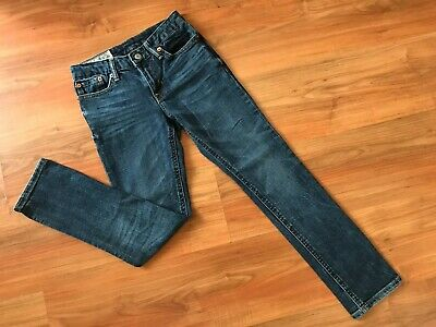 Boys Blue RALPH LAUREN POLO SKINNY FIT JEANS (age8) *GREAT COND*