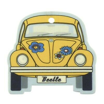 VW Collection VW Beetle - Coconut/Yellow Car Air Freshener