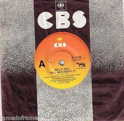 """Billy Joel - Tell Her About It - 7"""" 45 Vinyl Record - 1983"""