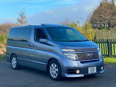 Nissan Elgrand Highway Star 3.5 V6 E51 8 Seater *Twin Sunroofs~Uk Sat Nav & Dvd*