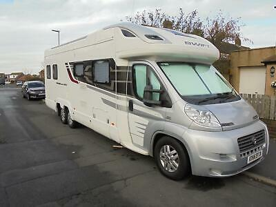 Swift Kontiki 659, Rear Bathroom, Fixed Bed, Low Mileage, Excellent Condition