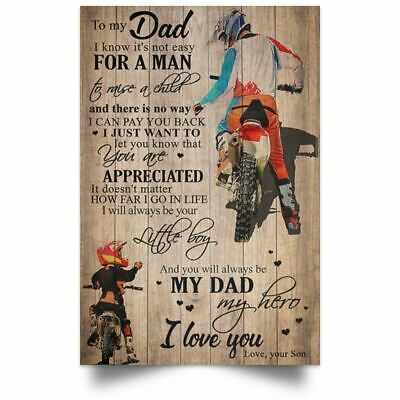 239082 To My Son Love Dad Samurai Germany Version WALL PRINT POSTER UK