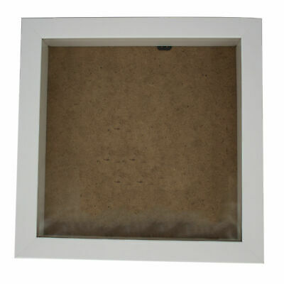 """10""""X 10"""" White Deep Box Frame Picture Frame (Pack Of 4)"""