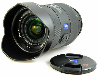 SONY Carl Zeiss T* Vario Sonnar 16-35mm f2.8 ZA Zoom Lens - SONY A mount - boxed