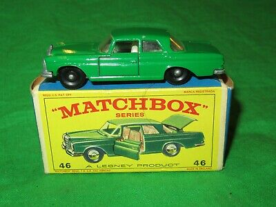 Matchbox 46 Mercedes Benz 300SE Coupe VGC early issue in New Model box