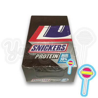 18 x 47g Snickers Protein Bar   18 bars   NOT Boost Mars Grenade   BB: 26/02/20