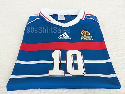 1998 France Zidane World Cup retro football soccer shirt