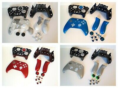 Microsoft Xbox One S Wireless Controller Custom Parts - Red,Green,Blue,Yellow