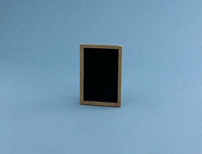 "#D9112-74 NICE Dollhouse Miniature 2/"" x 3/"" Chalkboard GREAT SIZE TO MAKE SIGNS"
