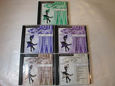 Collection Of Karaoke-CD+Video's- Top Monthly Hits- (5)