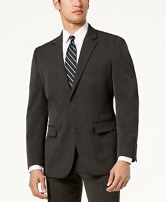 Nautica Men's Modern-Fit Active Stretch Suit Jacket Blazer Grey 38R NEW $395