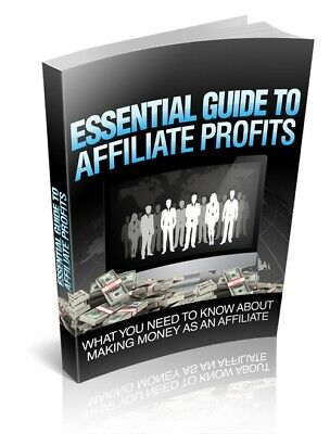 Essential Guide To Affiliate Profits PDF eBook with Master Resell Rights MRR