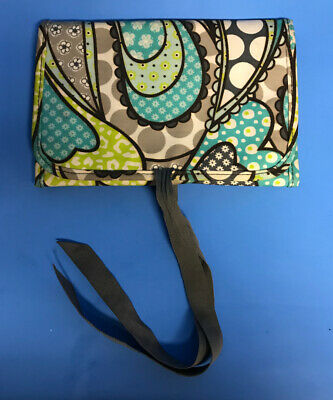 Thirty One 31 Fold & Go Tri-Fold Organizer Notebook Holder Paisley