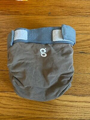 GDiapers - Size medium, Solid Brown