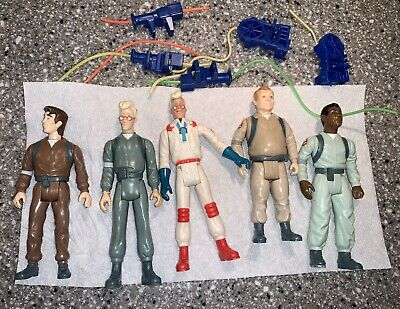 The Real Ghostbusters figure lot all original 5 vintage Blasters
