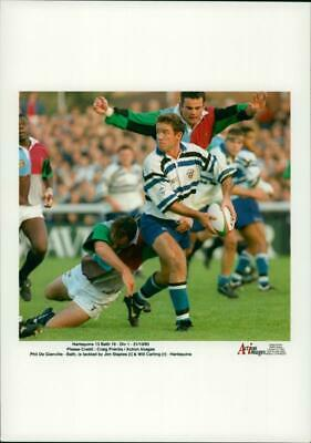 Vintage photograph of Philip De Glanville, Jim Staples and Will Carling
