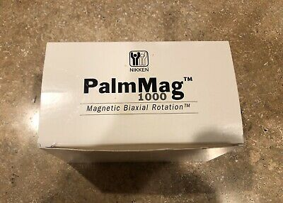 NIKKEN PalmMag Palm Mag 1000 Magnetic Bi-Axial Rotation Magnet Therapy