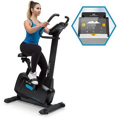 Cyclette Bicicletta Camera Fitness Workout Cardio Bike Indoor Cycling Nero