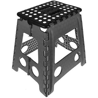 Multi-Purpose Step Stool Large Home Kitchen Slip Resistant Foldable Easy Storage