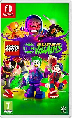 LEGO DC Super-Villains Nintendo Switch Brand New Sealed Official Game