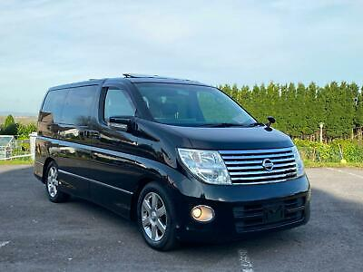 2007 Nissan Elgrand Highway Star 3.5 V6 E51 *Full Heated Leather & Sunroofs*