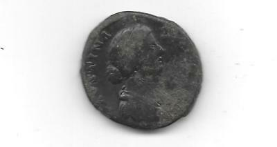 Ancient Roman Coin - Faustina Junior - Ae Sestertius - Free Shipping  (Anc 862)