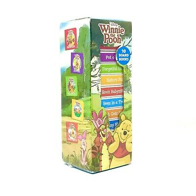 Disney Winnie The Pooh 10 Childrens Books Kids Reading Early Learning Toddlers