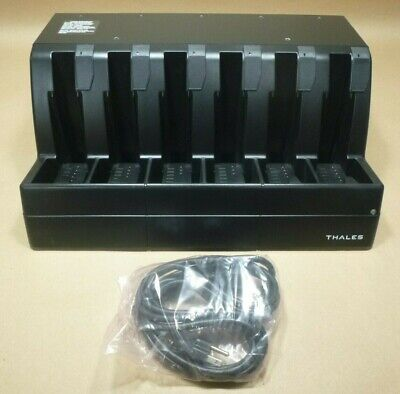 Thales 1600689-1 Military Radio 6 Bay Battery Charger Mbitr An/Prc-148 , Prc-148