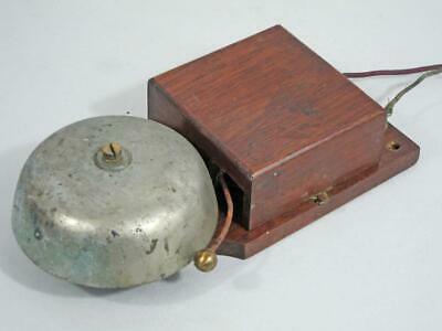 LARGE VINTAGE ELECTRIC BELL 1900 door bell servant butler downton abbey shop   a