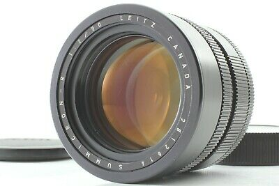[NEAR MINT] Leica Leitz Canada Summicron R 90mm f/2 for R Mount 3CAM from Japan
