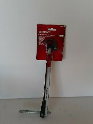 Husky 1-1/2 in. Quick-Release Telescoping Basin Wrench