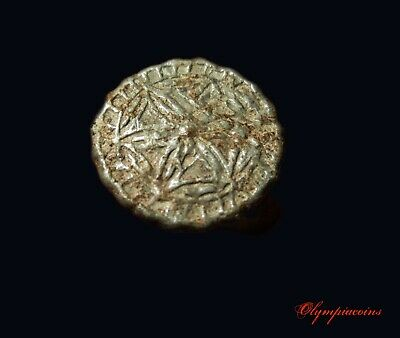 ** AMAZING  & RARE **  BIG  Byzantine -medieval  Roman ** TIN ** ring